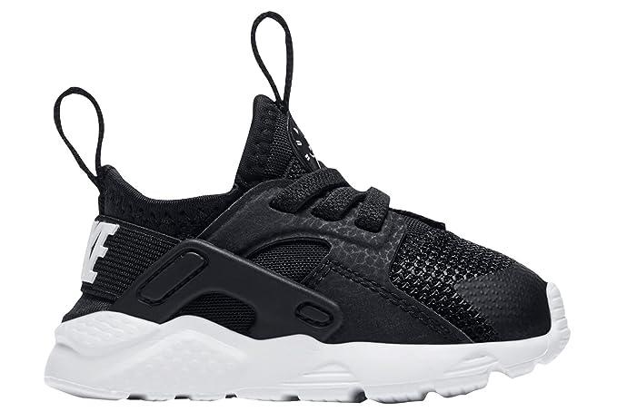 724039e0b5 Amazon.com : Nike Huarache Run Ultra (td) Toddler 859594-002 Size 2 Black/ White : Clothing