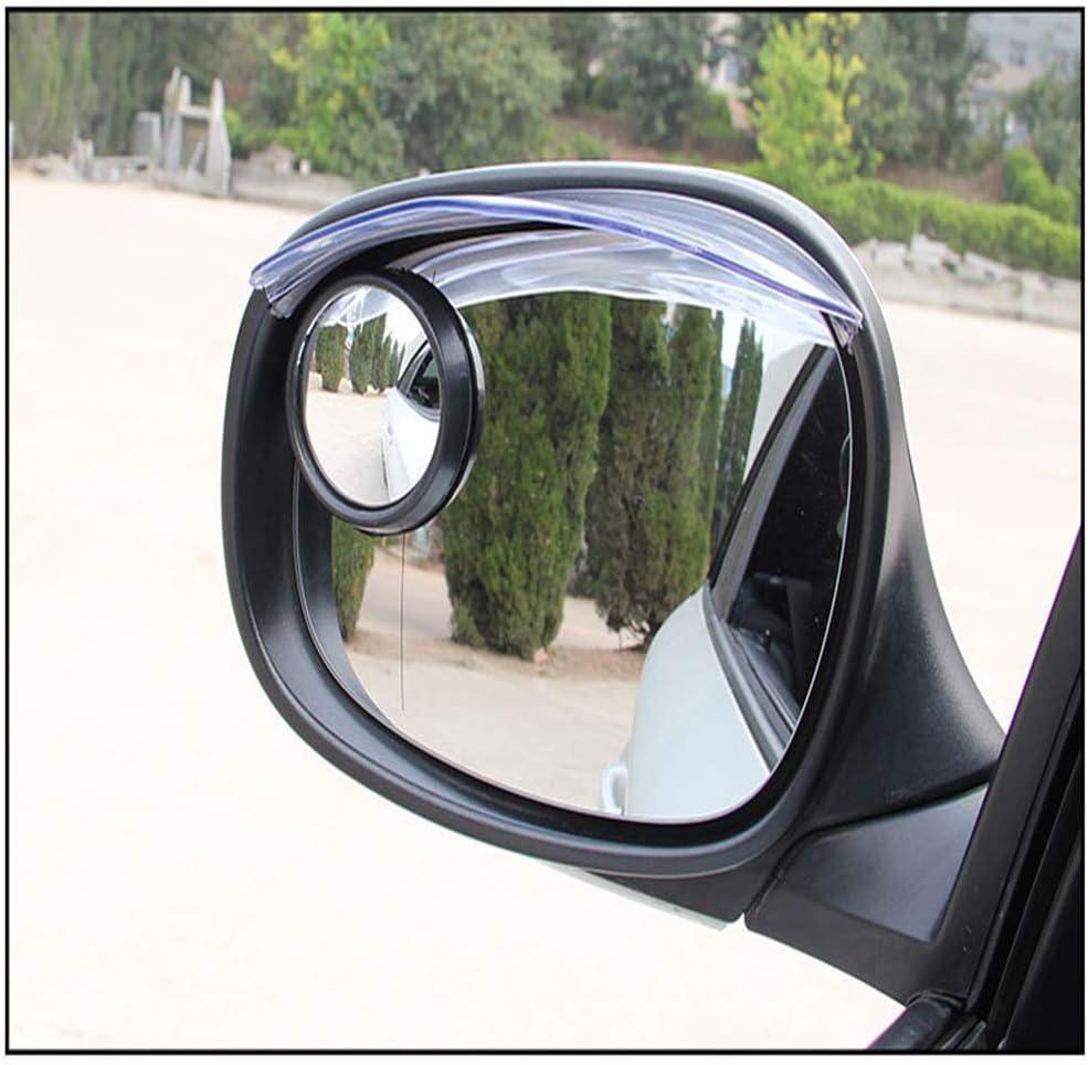 Biqing 2Pcs Rain Eyebrow,Universal Car Parts Car Rearview Mirror Rain Eyebrow Snow Guard Sun Visor Shadow Protector Keep Vision Clear