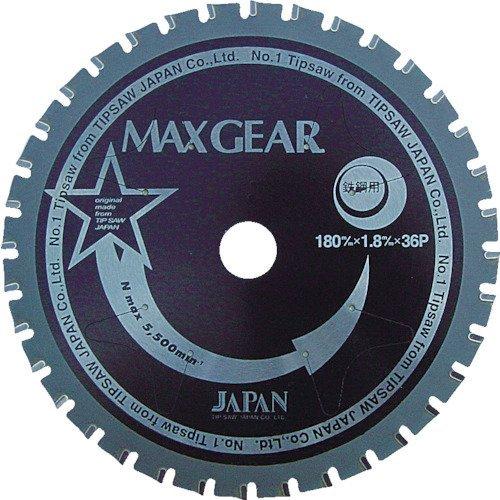 チップソージャパン マックスギア鉄鋼用355 MG355 B002P95ZLI 外径(mm):355 外径(mm):355