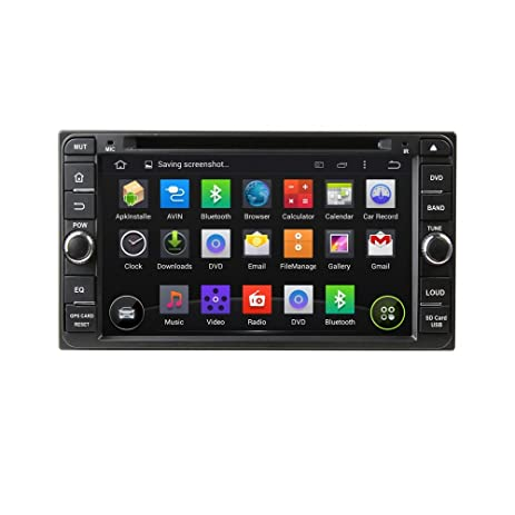 Amazoncom 695 Android 51 Quad Core Car DVD GPS Navigation for