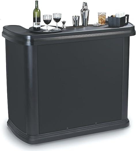 Carlisle 755003 Maximizer Portable High Top Entertainment Bar