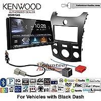 Volunteer Audio Kenwood DDX9704S Double Din Radio Install Kit with Apple Carplay Android Auto Fits 2011-2013 Kia Forte (Black)