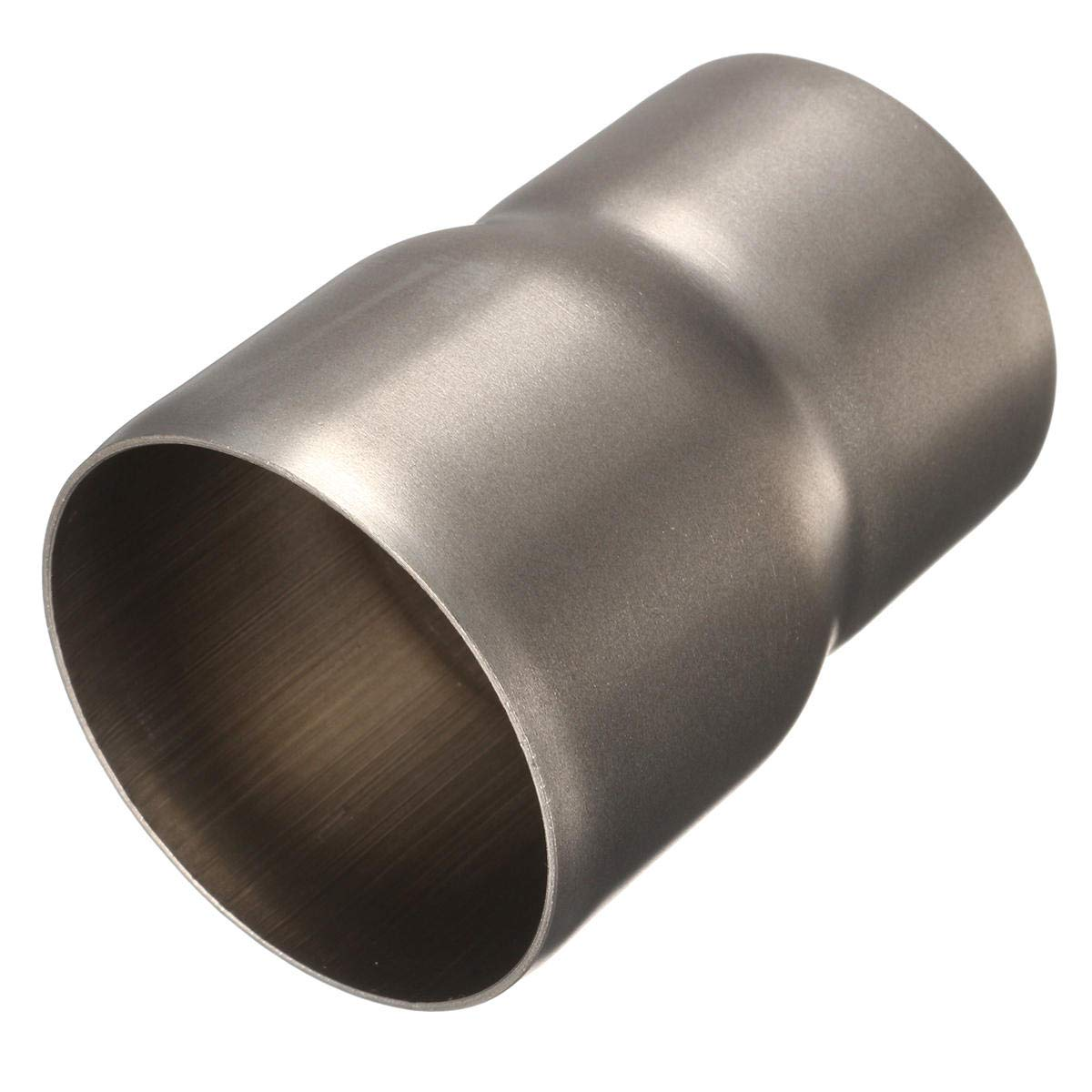 60mm to 51mm Motorcycle Mild Steel Exhaust Muffler Adapter Reducer Connector Pipe Tube Unbekannt