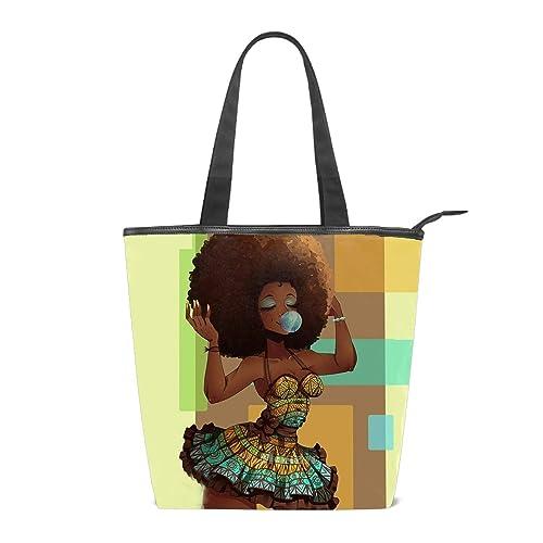 Amazon.com: Bolsa de lona para mujer, bolsa de la bandera de ...