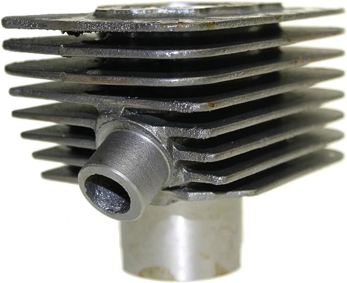 Zylinderkit Zylinder Set 50ccm Mit 10mm Kolbenbolzen Für Piaggio Ciao Bravo Super Boxer Auto
