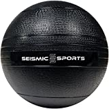 25 lb Slam Ball – 25 Pound Black Dead Weight Slam Ball for Crossfit, HIIT, Plyo, Cross Training and Cardio Exercise Review