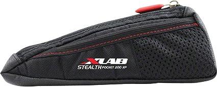 XLAB Stealth Pocket 400XP 300 200 Frame Bag Black Mount With Top Tube Boxes Box
