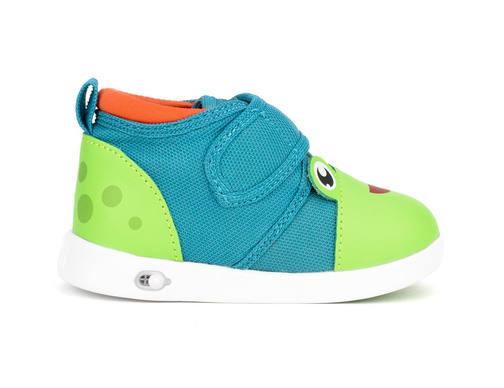 ikiki Squeaky Shoes for Toddlers w/Adjustable Squeaker (4, Prince Kairu) by ikiki (Image #4)