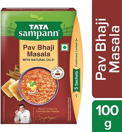 Tata Sampann- Pav Bhaji Masala, 100 gm