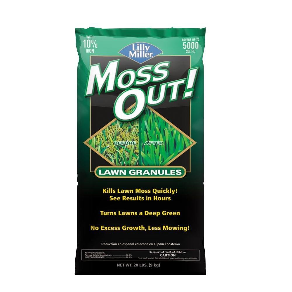 Lilly Miller Moss Out Lawn Granules 20lb