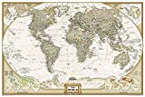National Geographic: World Executive Wall Map (Poster Size 36 x 24 inches) (National Geographic Reference Map)