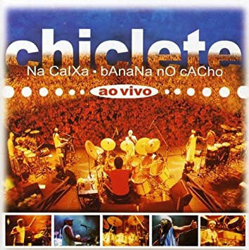 cd chiclete na caixa banana no cacho ao vivo