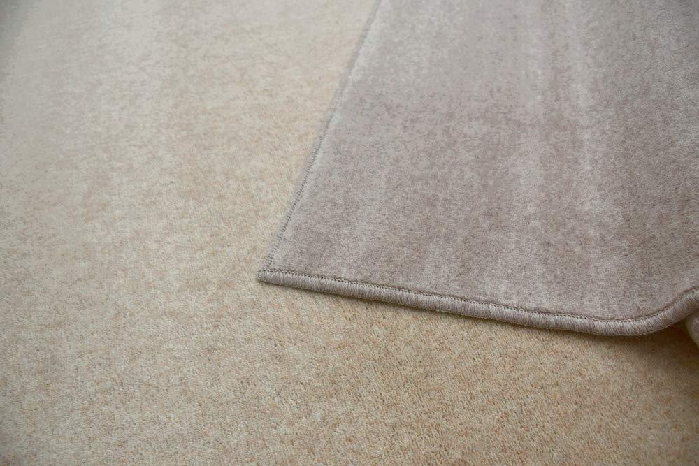 b830bb8fee63 Amazon|4.5畳 カーペット ウール 絨毯 じゅうたん 防炎 防音ト 4.5帖 【W-500】 サイズ261×261cm  クリーム色|ラグ・カーペット オンライン通販