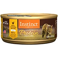 Instinct Ultimate Protein Grain Free Recipe Natural Wet Canned Cat Food by Nature's Variety