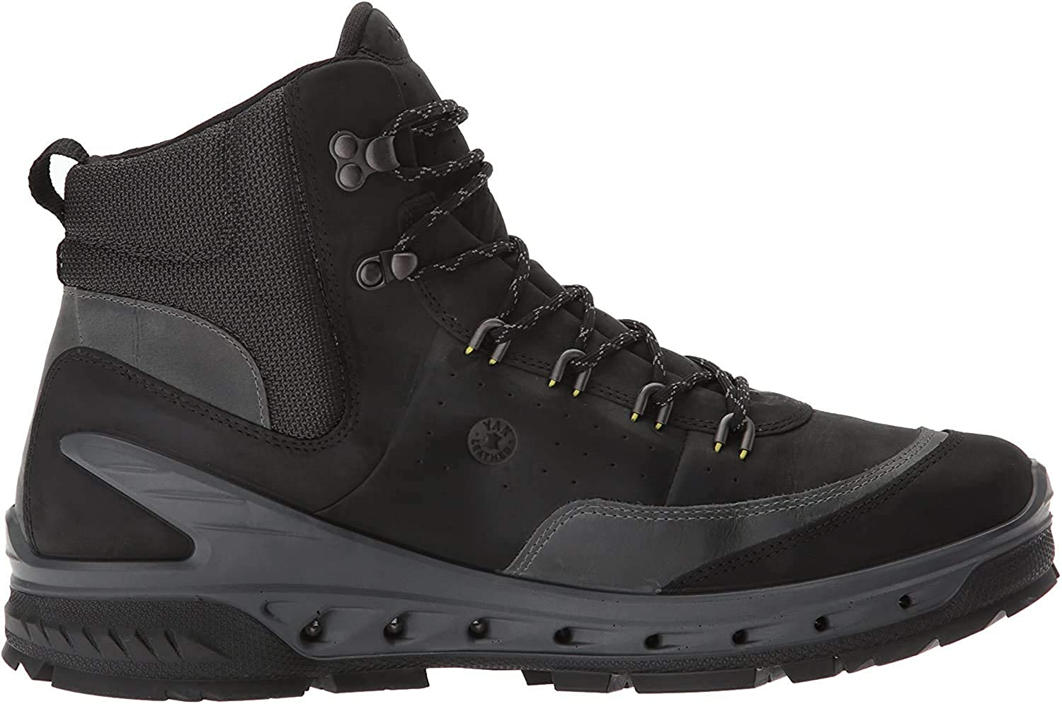 ECCO Men s High Rise Hiking Shoes, Black Dark Shadow 56340