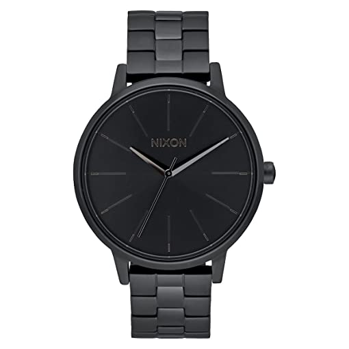 Nixon Womens Kensington A099001 Black Stainless-Steel Quartz Watch