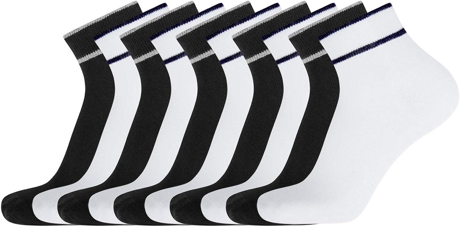 oodji Ultra Hombre Calcetines Deportivos (Pack de 10), Multicolor ...