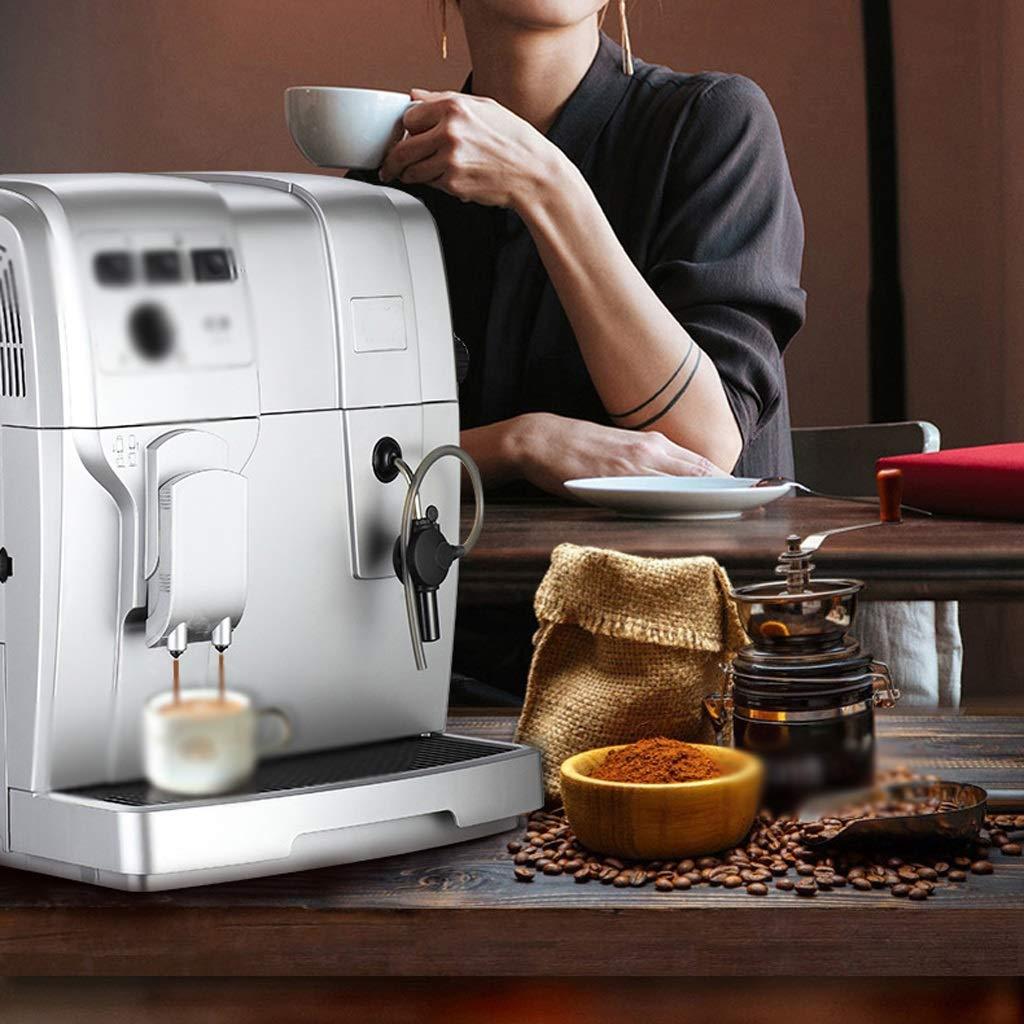 LJHA kafeiji Máquina de café Italiana, pequeña máquina de Granos ...
