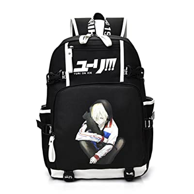 Yuri Victor Backpack School Bag BookBag Shoulder Messenger Bag