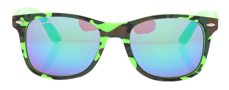 De Puta Madre 69 Sonnenbrille Neon Grün Camouflage ...