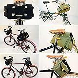Zimbale Bicycle Waterproof Canvas Saddlebag - 16