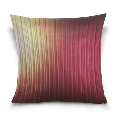 Funda de Almohada Stripes Light Vertical Decorative Cushion ...