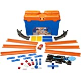 Hot Wheels DWW95 - Track Builder Set delle Acrobazie