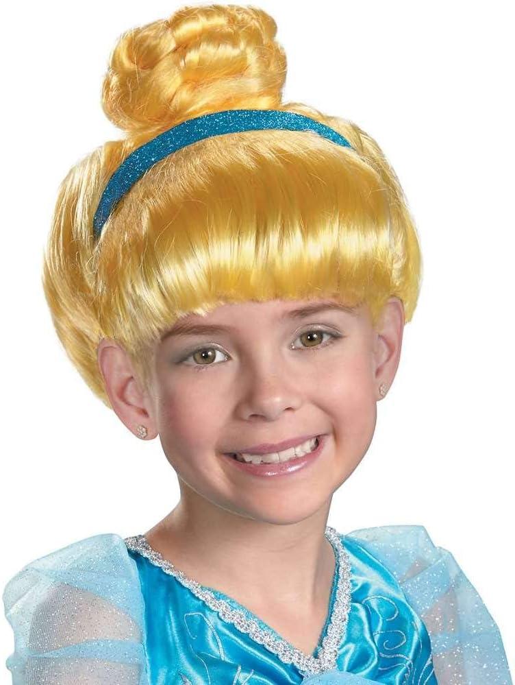 Amazon Com Disguise Cinderella Kids Wig Toys Games