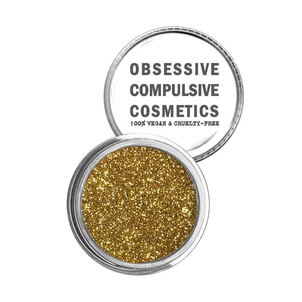 Obsessive Compulsive Cosmetics Face & Body Cosmetic Glitter, Gold, 0.08 Ounce