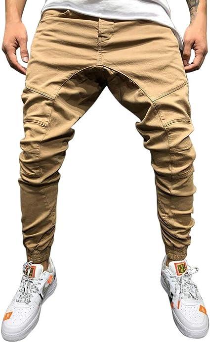 Pantalón para Hombre Pantalones Casual Gimnasio Gimnasio Chándal ...