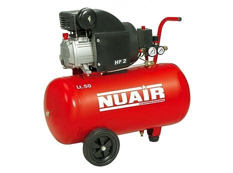 Nuair M257189 - Compresor de piston con aceite rc2/50 cm red 2hp