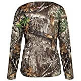 HABIT Women's Doss Cabin Long Sleeve Camo