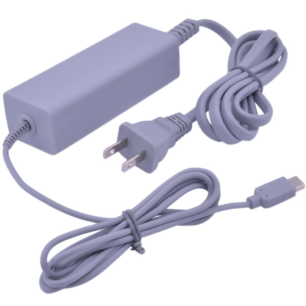 Wii U AC Adapter, Runflory (TM) AC Power Supply Adapter Charger for Nintendo Wii U Gamepad Remote Controller