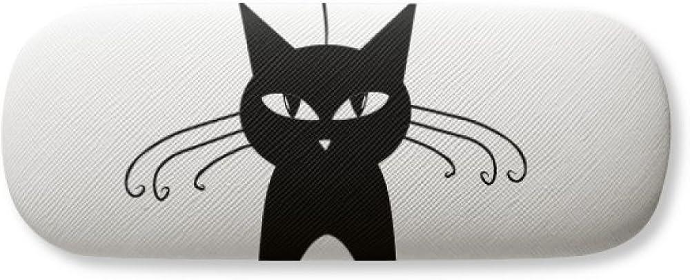 Black Cat Eyeglasses Case or Phone Cover