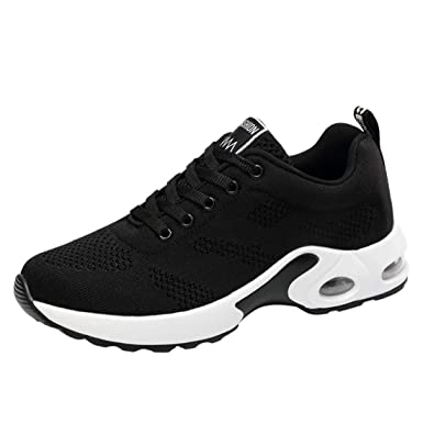 Dragon868 Sneakers Donna Scarpe Da Trekking Scarpe Comode Per Camminare  Scarpe Del Ginnastica Traspiranti Scarpe Stringate Running Zeppe   Amazon.it  ... b0c12eb85cb
