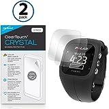 BoxWave® ClearTouch Crystal Pellicola protettiva per schermo Polar A300, trasparente, HD (2 pezzi)–protegge dai graffi