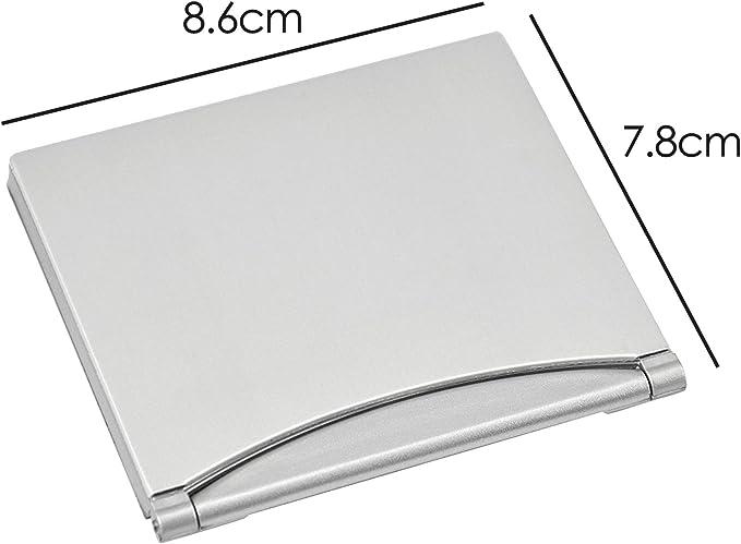 30,7x30,4x8,7 cm Argento Orologio argento da tavolo
