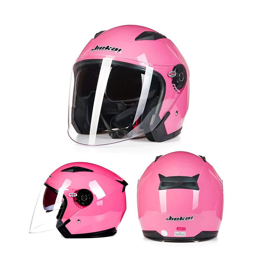offenes Gesicht Jet Crash Motorrad Helm Mattschwarz XXL Folconauto Motorrad Roller Helm