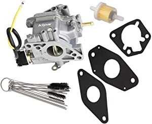 KIPA Carburetor for Kohler Command CH20 CH22 CH25 CH26 Engines, Replace OEM Number 2485334-S, 2405334, 2485315, 2485334, with Carbon Dirt Jet Cleaner Tool Kit & Gasket