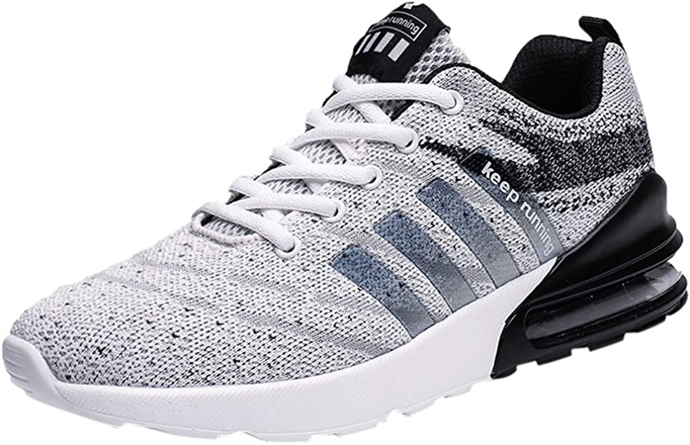 Elecenty Zapatos para Correr para Hombres Zapatillas de Punto con ...