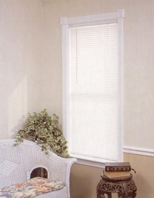 Length 64inch Drop Achim Home Furnishings Cordless GII Morningstar 1 Mini Blind Width 35inch