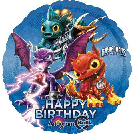 1 BALLOON new SKYLANDERS giants HBD PARTY FAVORS new VHTF by anagram TOY