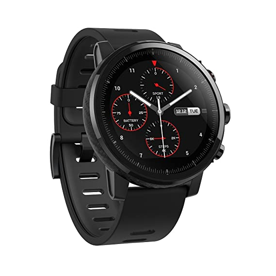 Amazfit Stratos Multisport Smartwatch with VO2max, All-Day Heart Rate and Activity Tracking, GPS, 5 ATM Water Resistance, Phone-Free Music, US Service ...