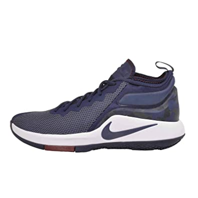 17e7c73caa76 Nike Men s Lebron Witness II College Navy College Navy-Team Red-White  Basketball
