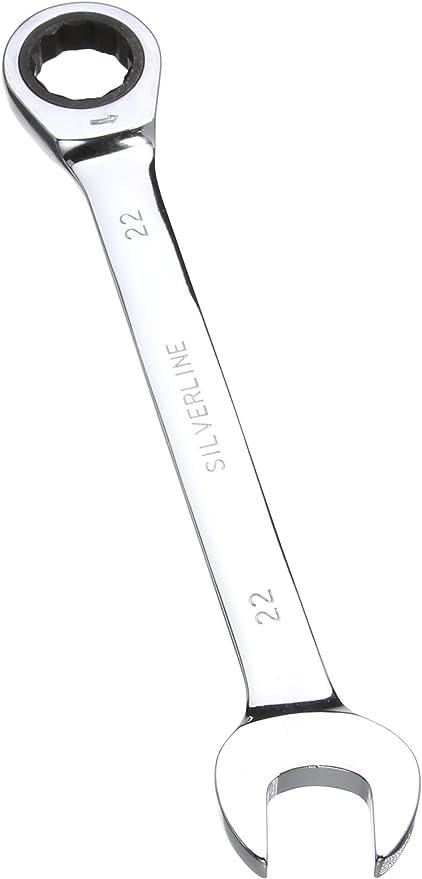 Silverline 719792 Cl/é /à cliquet 22 mm