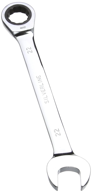 Silverline 571522 Cl/é /à cliquet /à t/ête fixe 30 mm