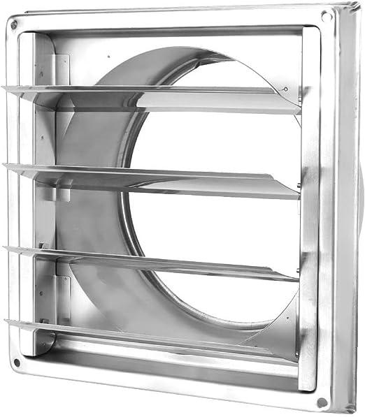 Campana de ventilación de Aire, Cubierta de conducto de ventilación de Acero Inoxidable Cubierta de Rejilla de Rejilla Salida de Aire Cuadrada Cubierta de ventilación del Extractor: Amazon.es: Hogar