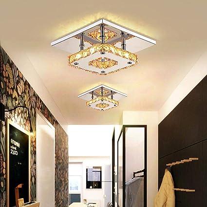 W Cristal Led Couloir Plafond Escalier Eclairage Salle A