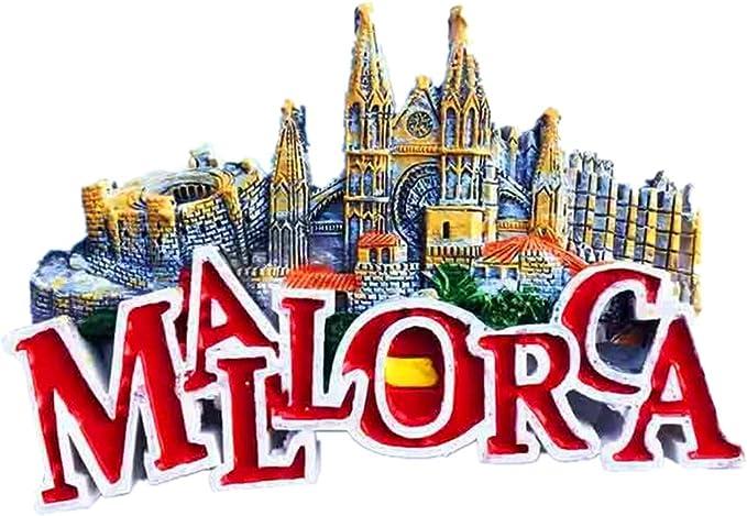 Hqiyaols Souvenir Belleville Castillo Palma Catedral Mallorca ...