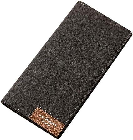 Brand Retro Men Leather Clutch Billfold Credit Card Holder Coin Purse Wallet New